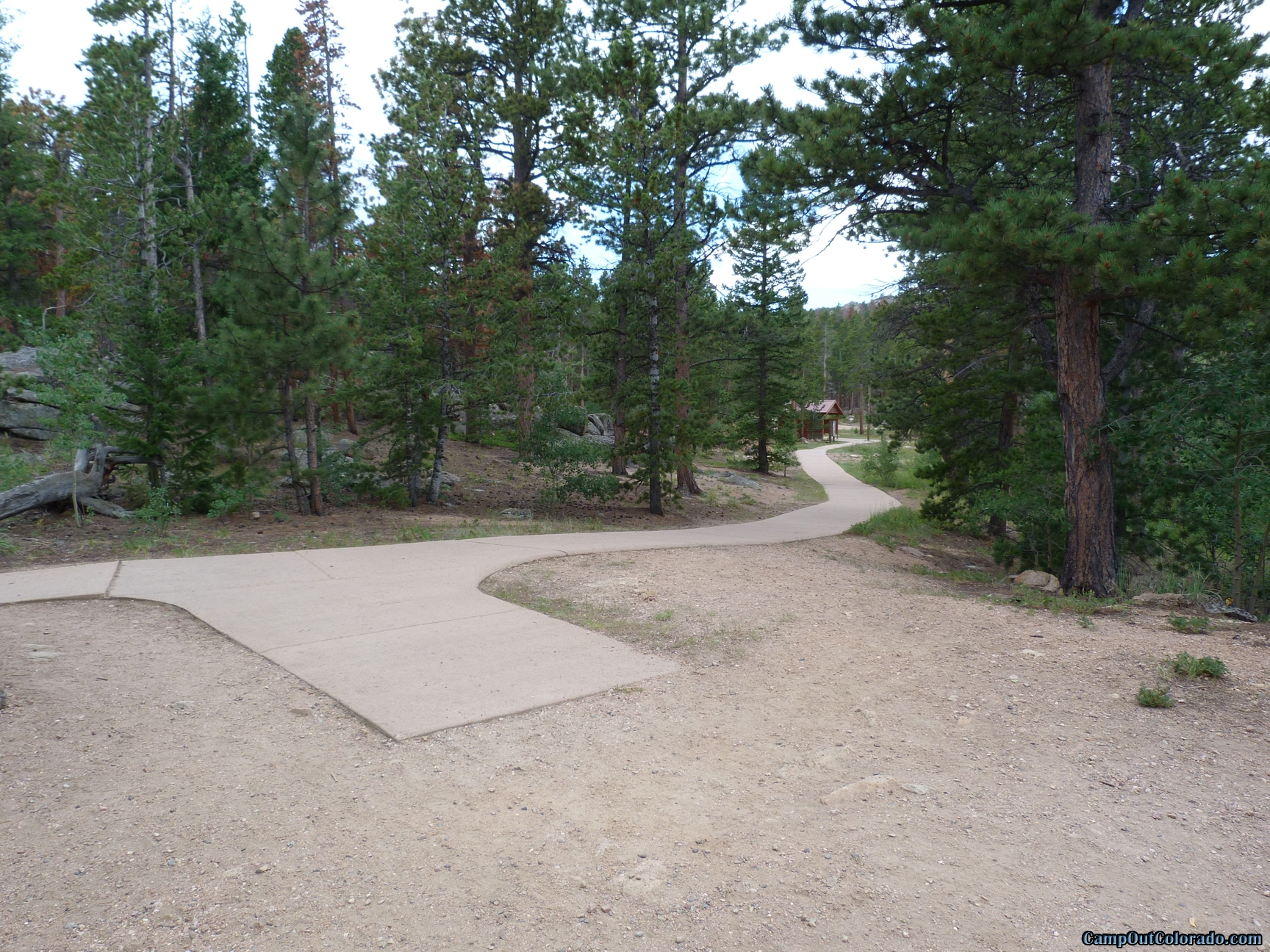 camp-out-colorado-bellaire-lake-path-to-campground