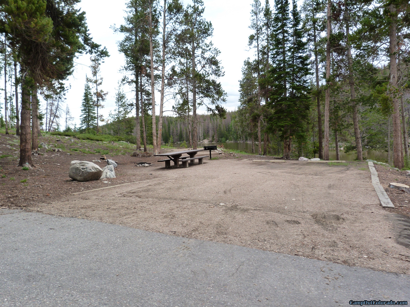 camp-out-colorado-chambers-lake-campground-hillside-double-campsite