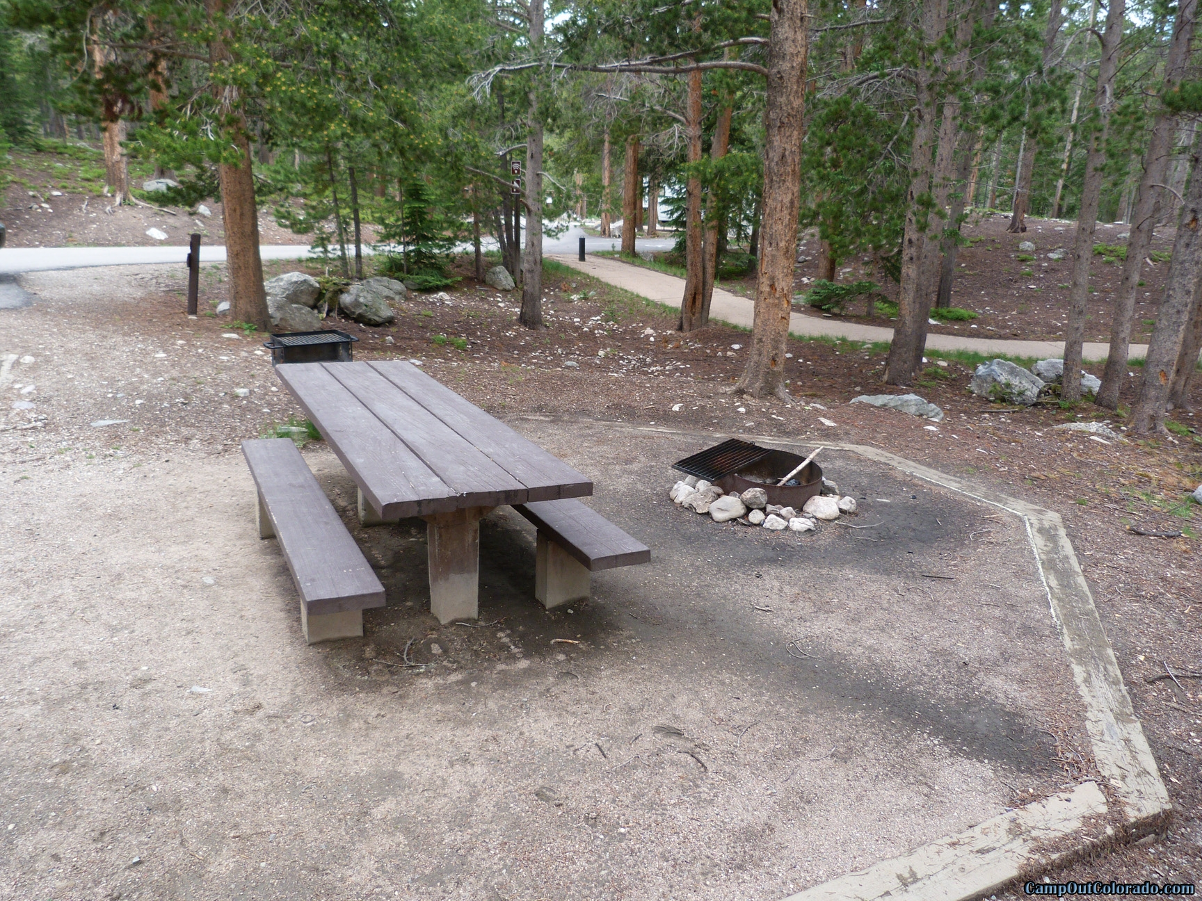 Camping Review of Chambers Lake Campground - Great High Altitude Camping