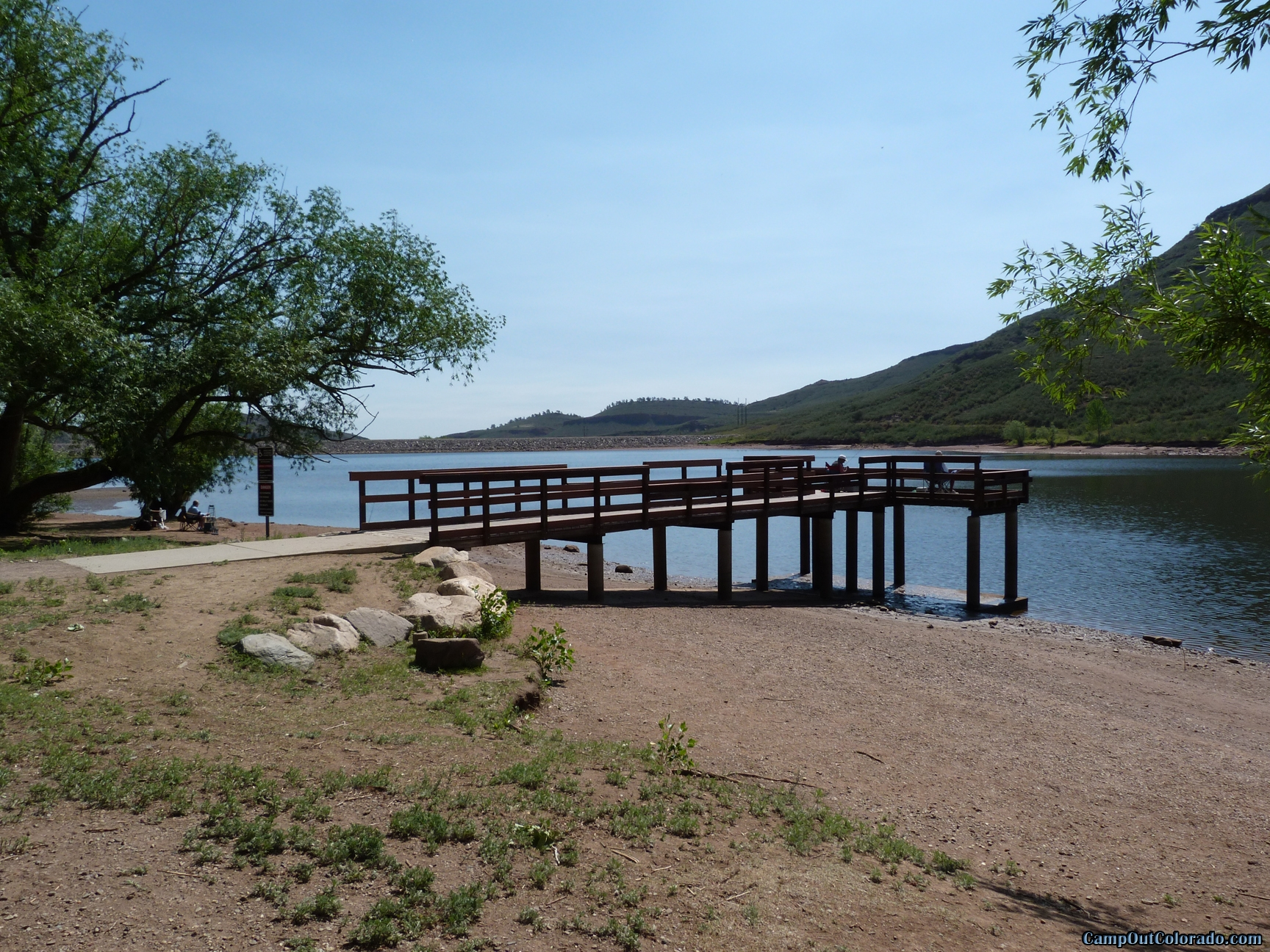 camp-out-colorado-flatirons-reservoir-fishing-pier