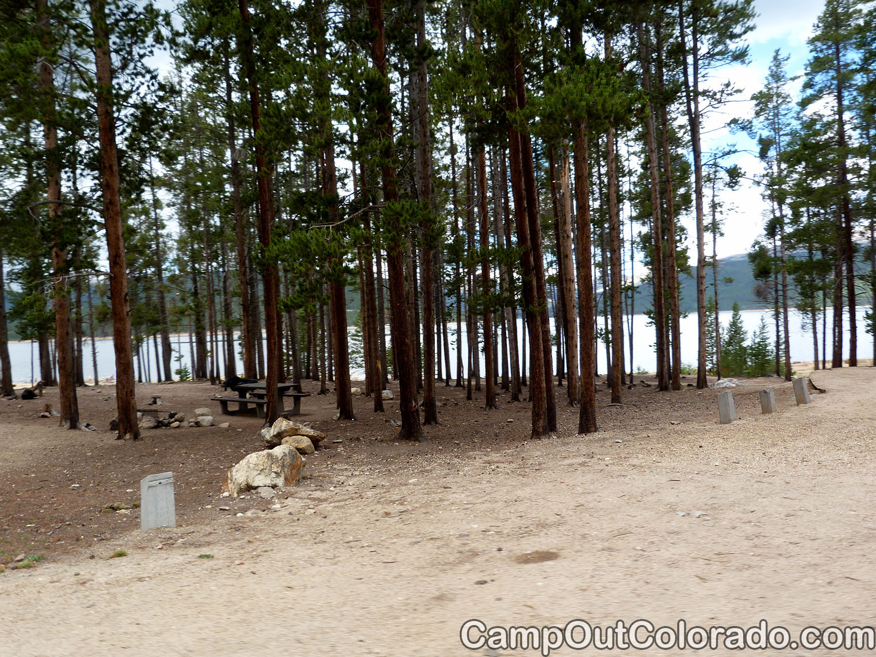 Camp-out-colorado-molly-brown-turquoise-lake-near-water