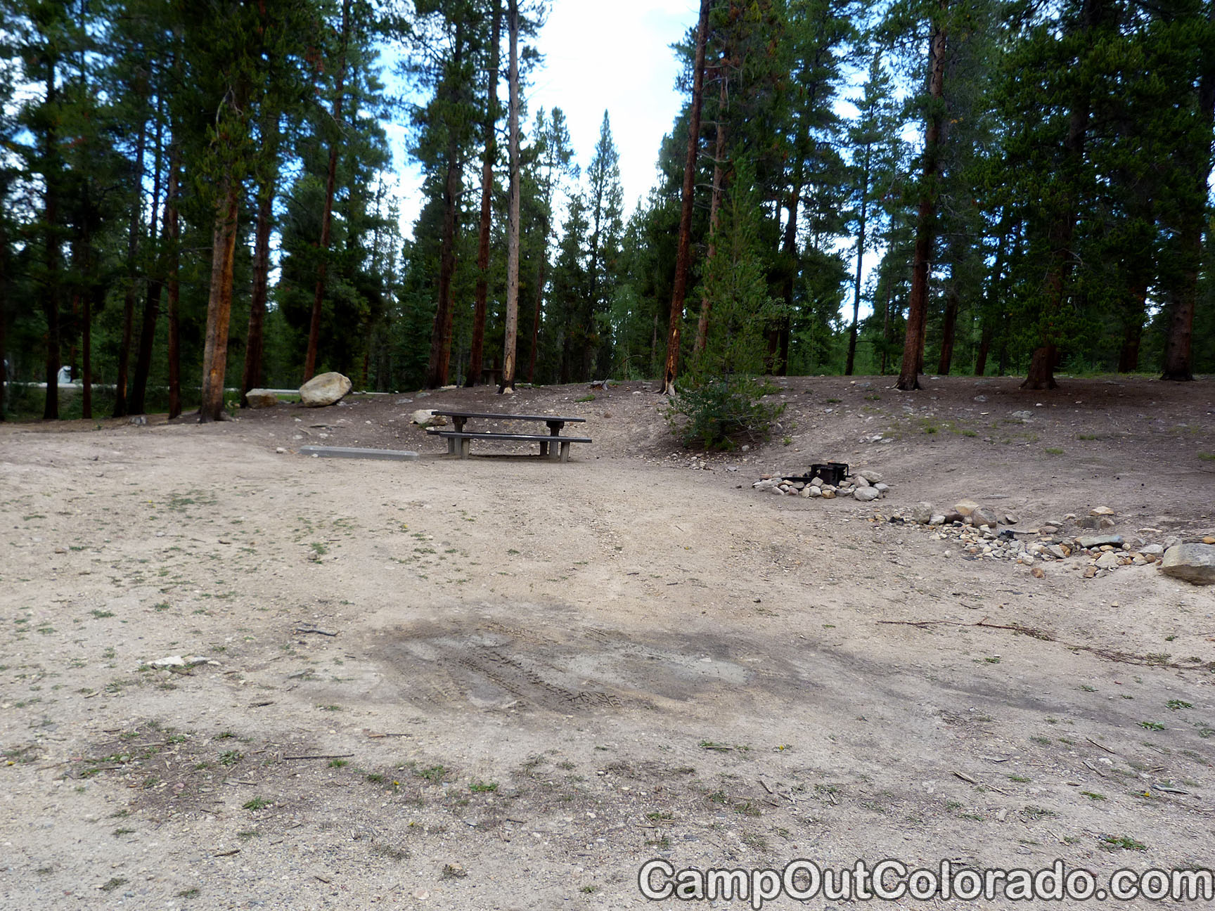 Camp-out-colorado-molly-brown-turquoise-lake-rough-camp-site