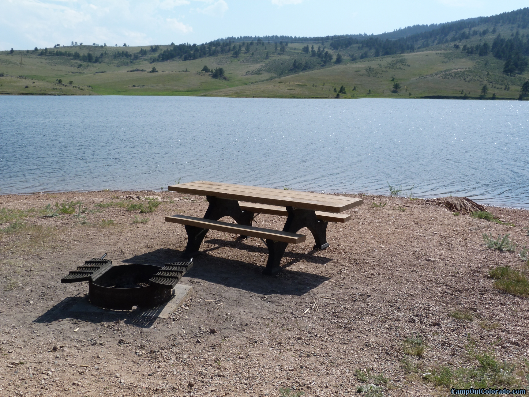 camp-out-colorado-pinewood-lake-side-camping