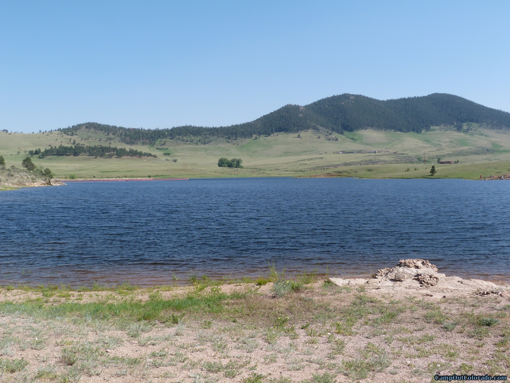 camp-out-colorado-pinewood-open-space-across-lake