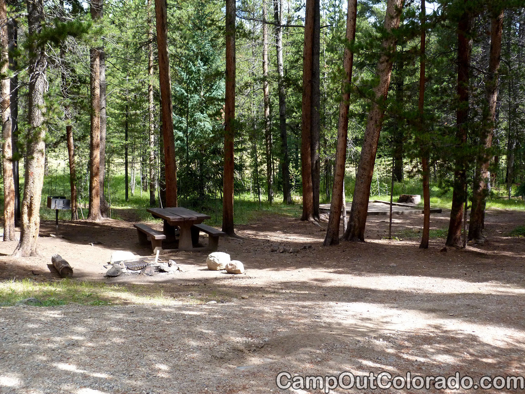 Camp-out-colorado-silver-dollar-turquoise-many-trees