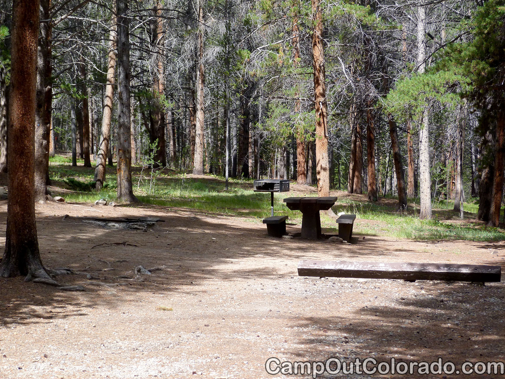 Camp-out-colorado-silver-dollar-turquoise-two-fire-pits