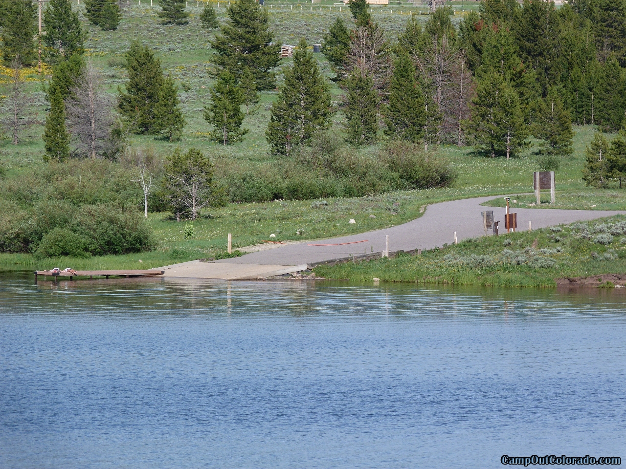 camp-out-colorado-steamboat-lake-boat-ramp