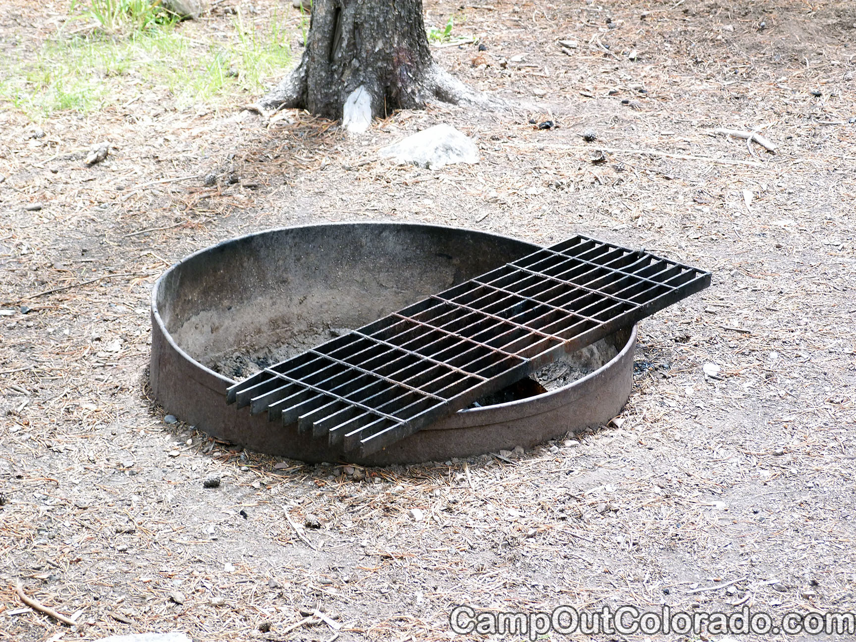 Campground-fire-pit 1