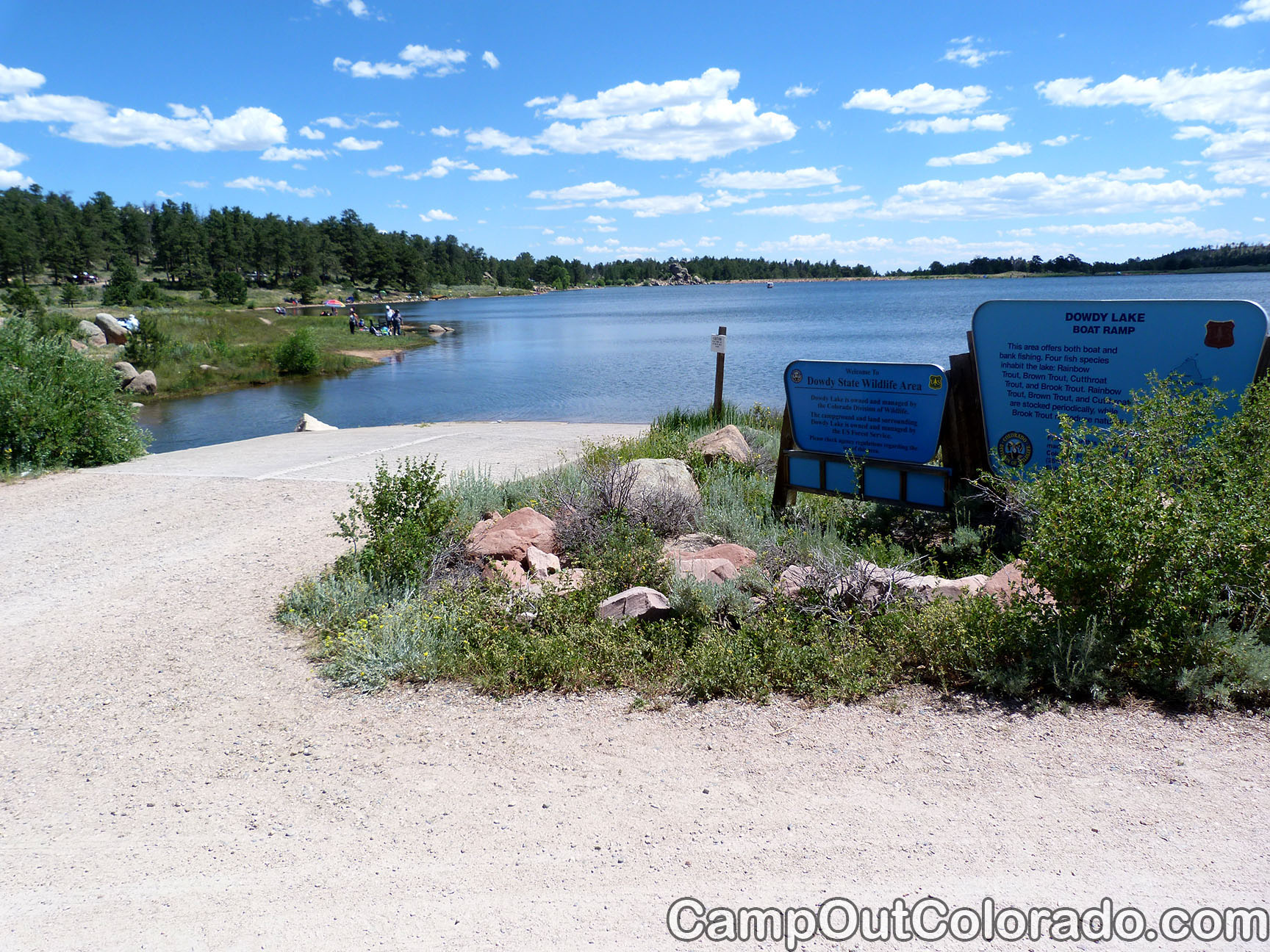 Campoutcolorado-dowdy-lake-campground-boat-dock