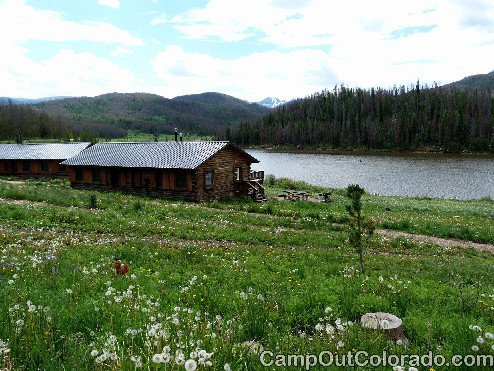 Campoutcolorado-north-michigan-reservoir-campground-big-cabin