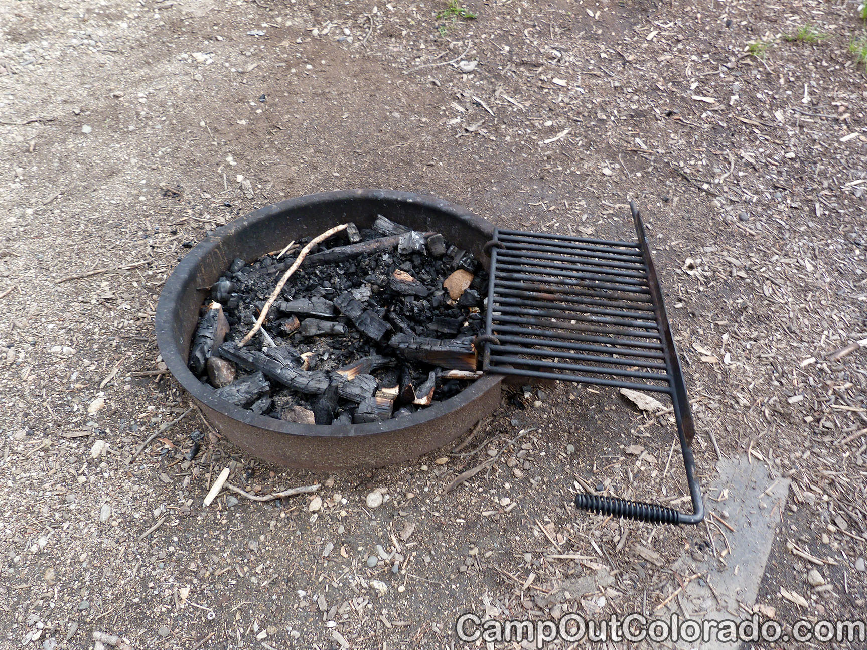 Campoutcolorado-north-michigan-reservoir-campground-fire-ring