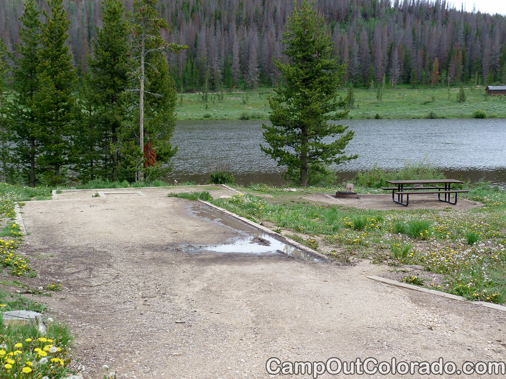 Campoutcolorado-north-michigan-reservoir-campground-long-drive-campsite