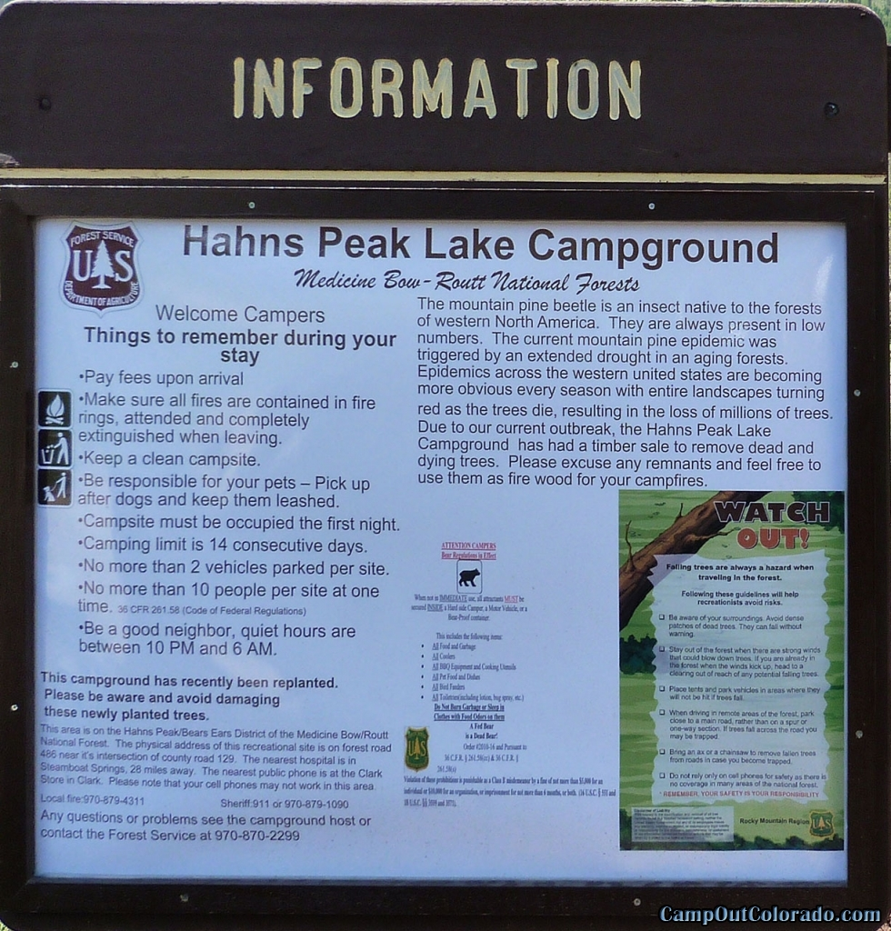 hahns-peak-lake-campground-information