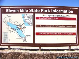 camp-out-colorado-eleven-mile-state-park-sign