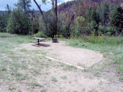 Camp-out-colorado-kelly-flats-campground-campsite-by-river