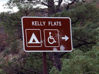 Camp-out-colorado-kelly-flats-campground-sign