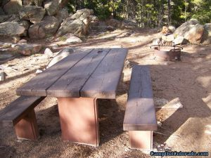 camp-out-colorado-kenosha-pass-campground-campsite-table-fire-ring