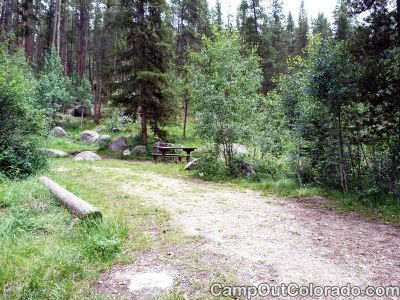 Campground-glade-campsite 1