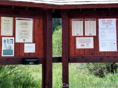 Campground-kiosk 1