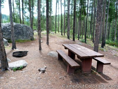 Campground-walk-in-campsite 1
