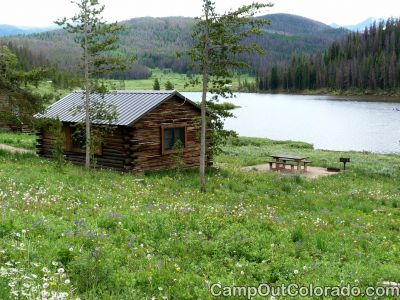 Campoutcolorado-north-michigan-reservoir-campground-small-cabin