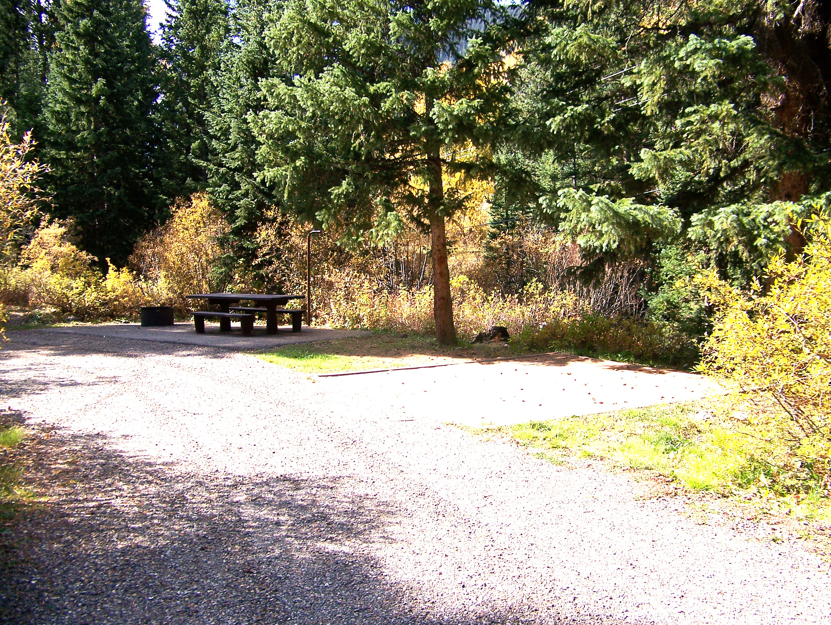 National Park Camping Site