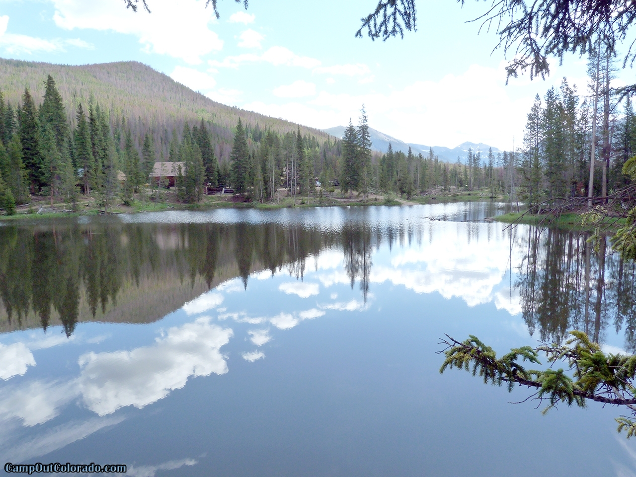 Read our ranger lakes campground camping review for Colorado out of state fishing license