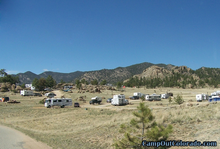Eleven mile state park camping review camp out colorado for Colorado out of state fishing license