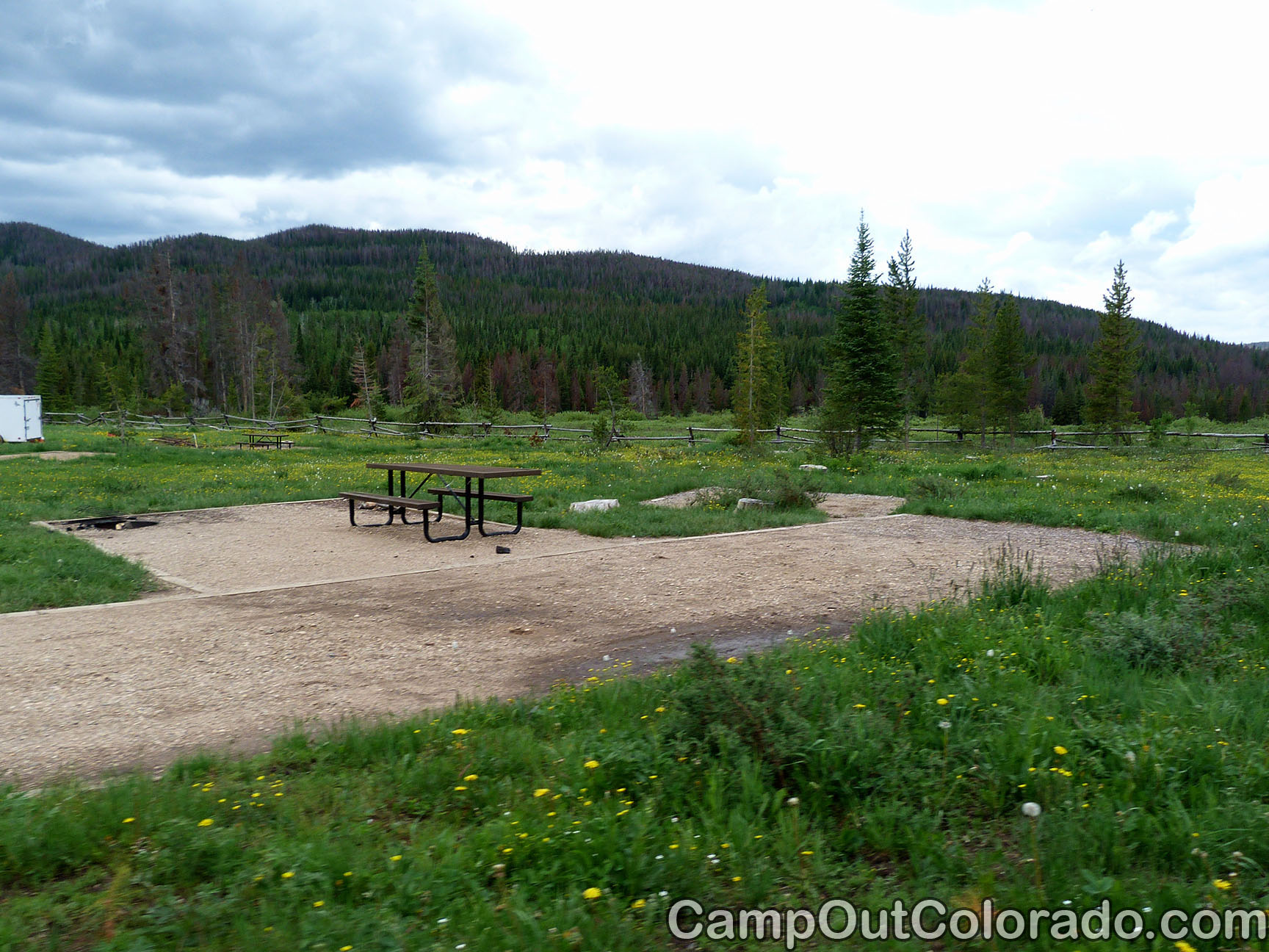 Bockman campground state forest state park camping review for Colorado fishing atlas