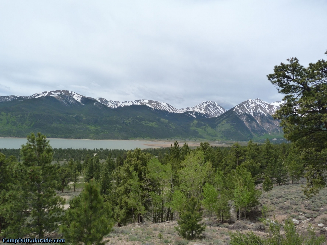 Lakeview campground camping review camp out colorado for Colorado out of state fishing license
