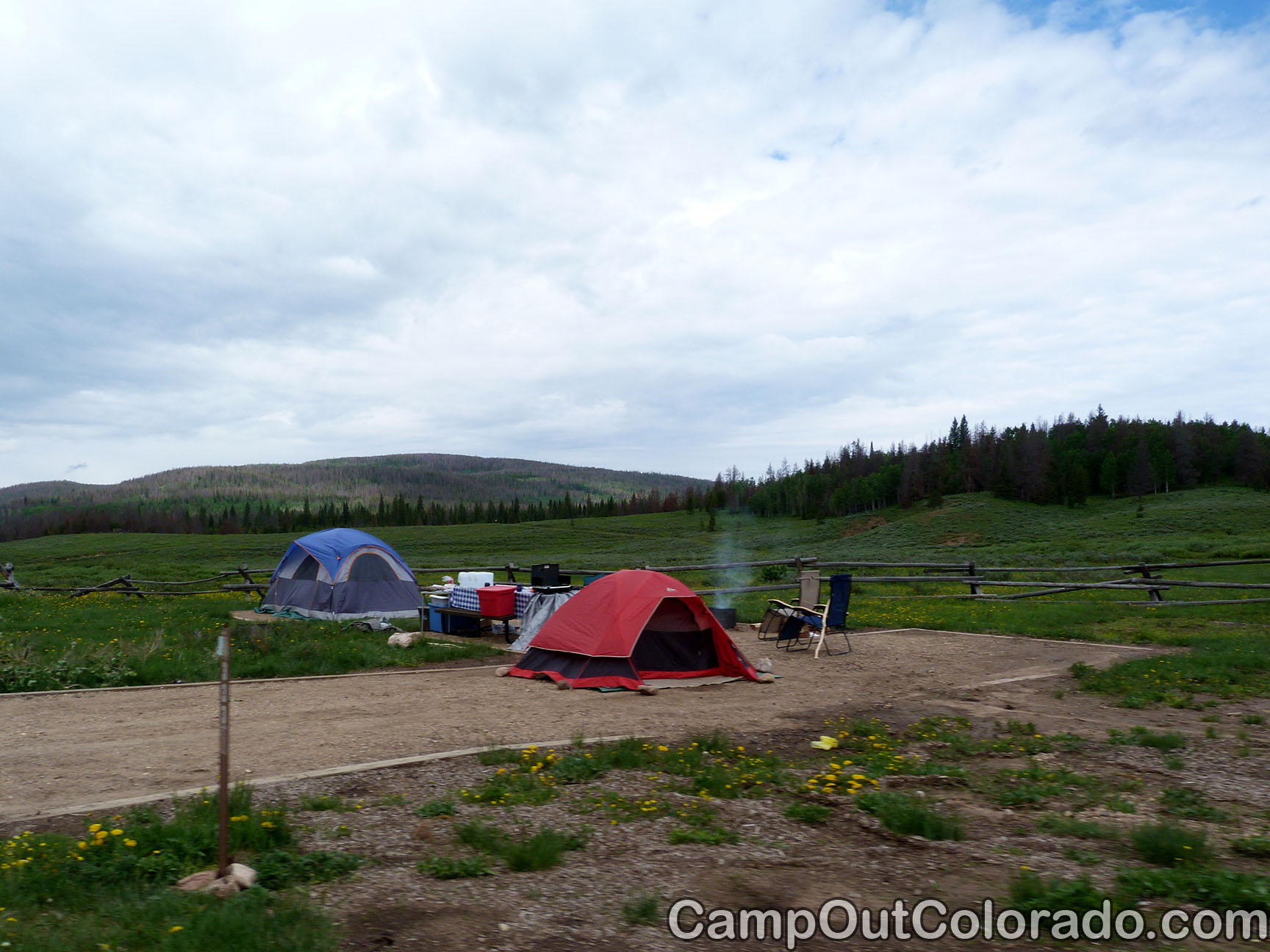 Bockman Campground State Forest State Park Camping Review