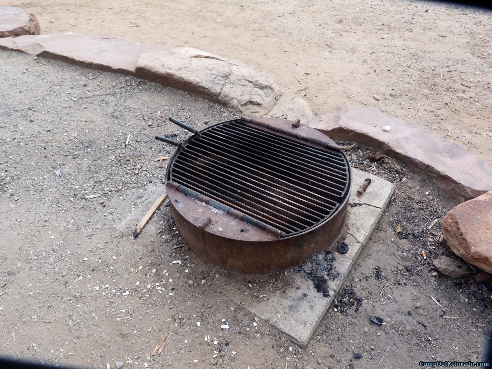 camp-out-colorado-carter-lake-fire-ring