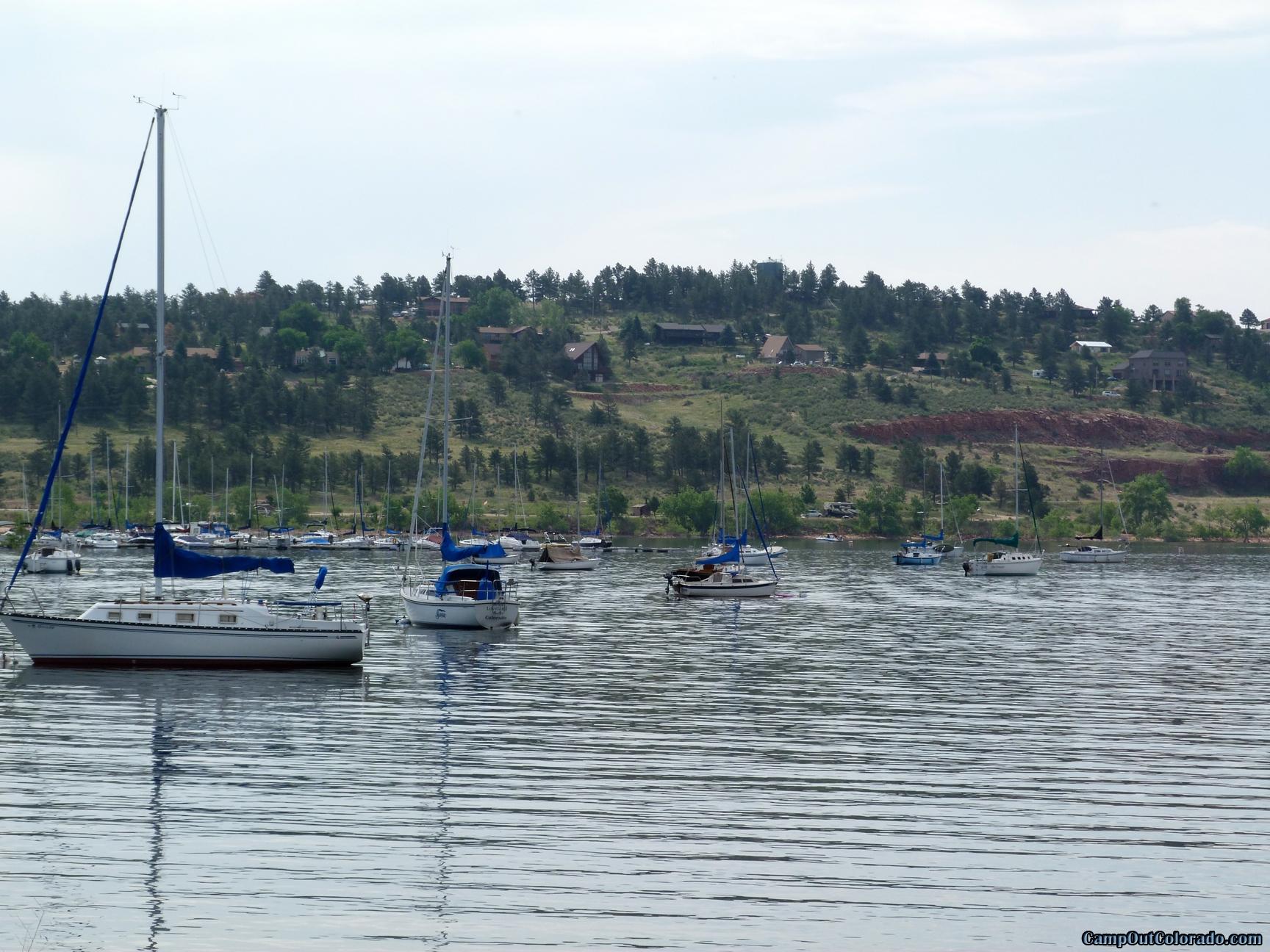 camp-out-colorado-carter-lake-sail-boat