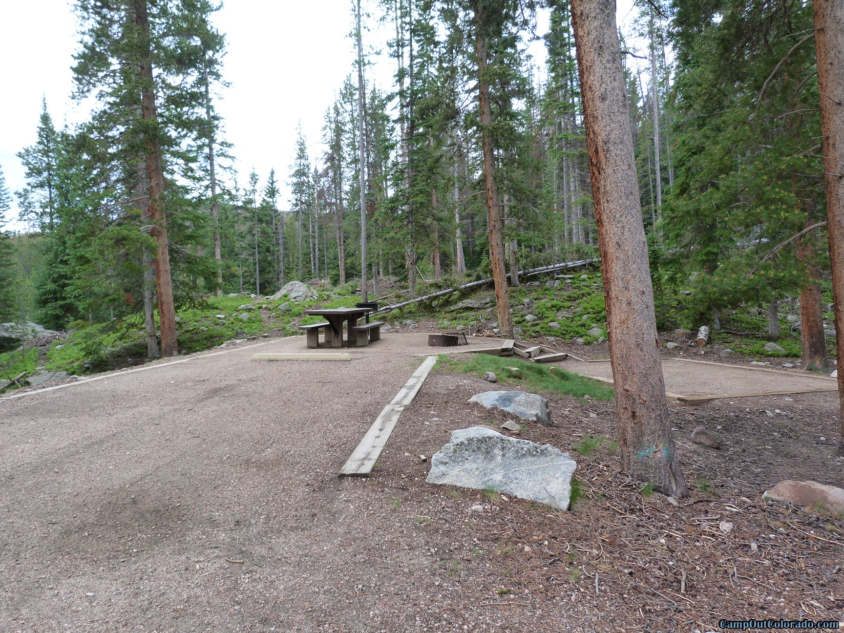 camp-out-colorado-chambers-lake-campground-campsite-stairs