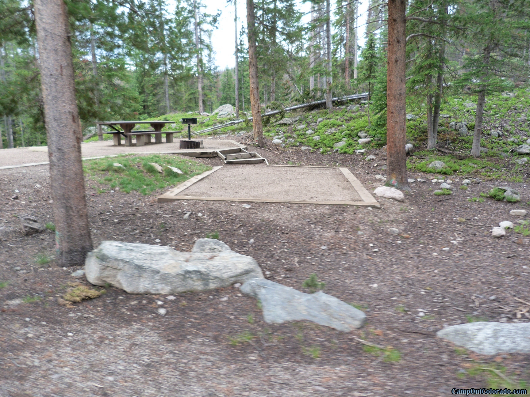 camp-out-colorado-chambers-lake-campground-tent-pads