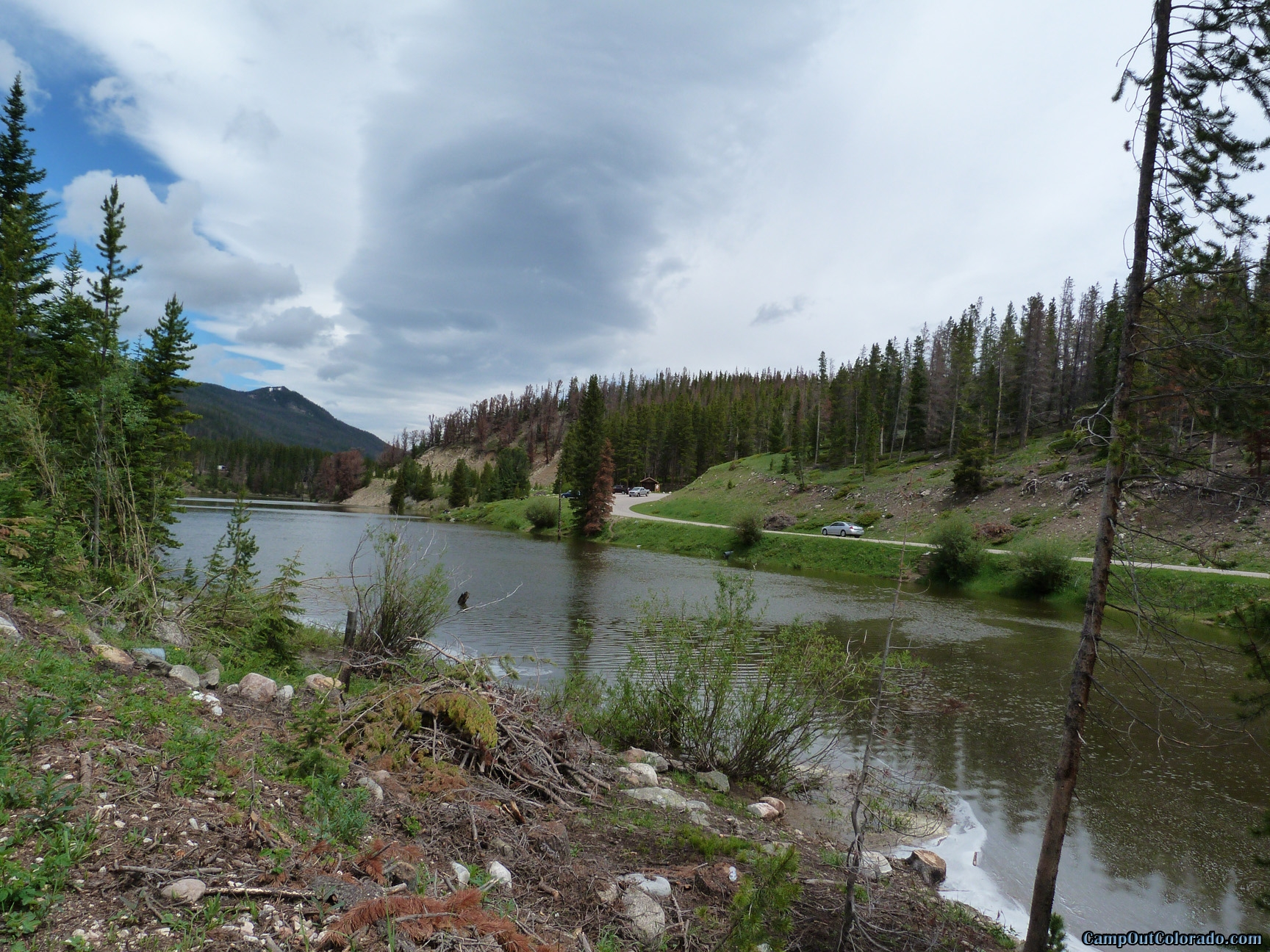 camp-out-colorado-chambers-lake-campground-untrance