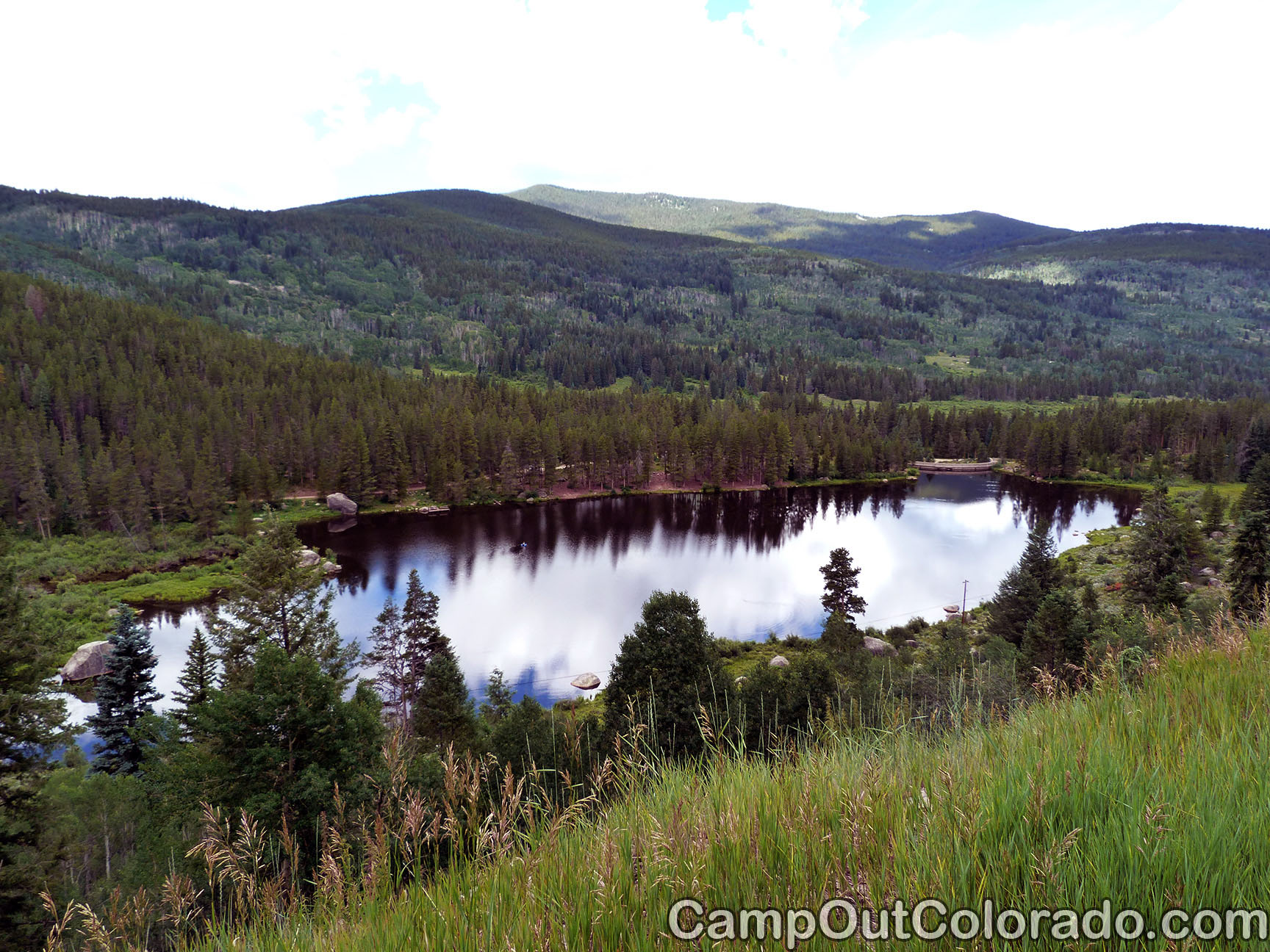 Camping Review of Chapman Dam Campground