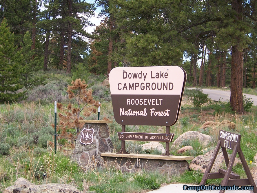 camp-out-colorado-dowdy-lake-sign