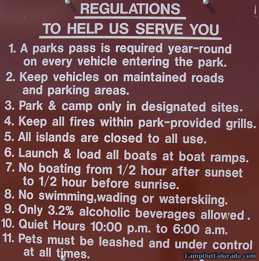 camp-out-colorado-eleven-mile-state-park-regulations