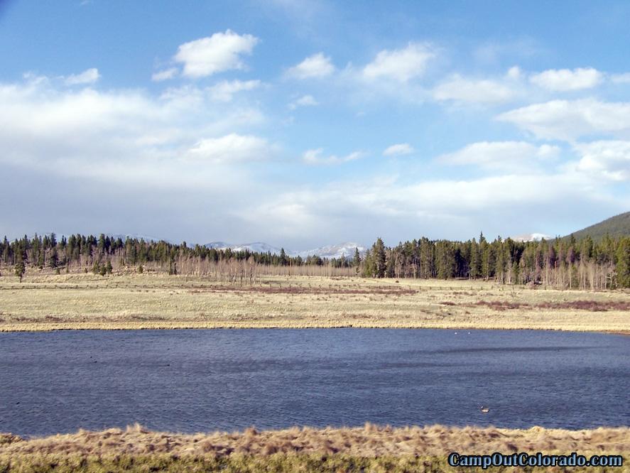 camp-out-colorado-kenosha-pass-campground-pond