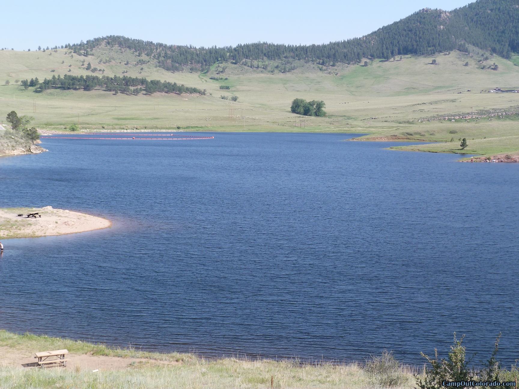 camp-out-colorado-pinewood-long-lake-view