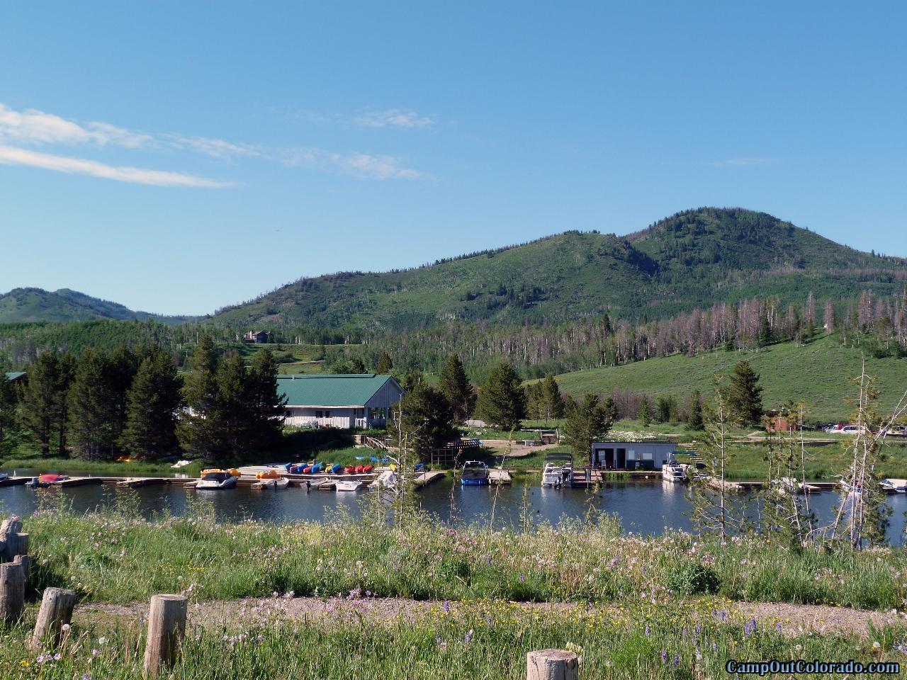 camp-out-colorado-steamboat-lake-marina