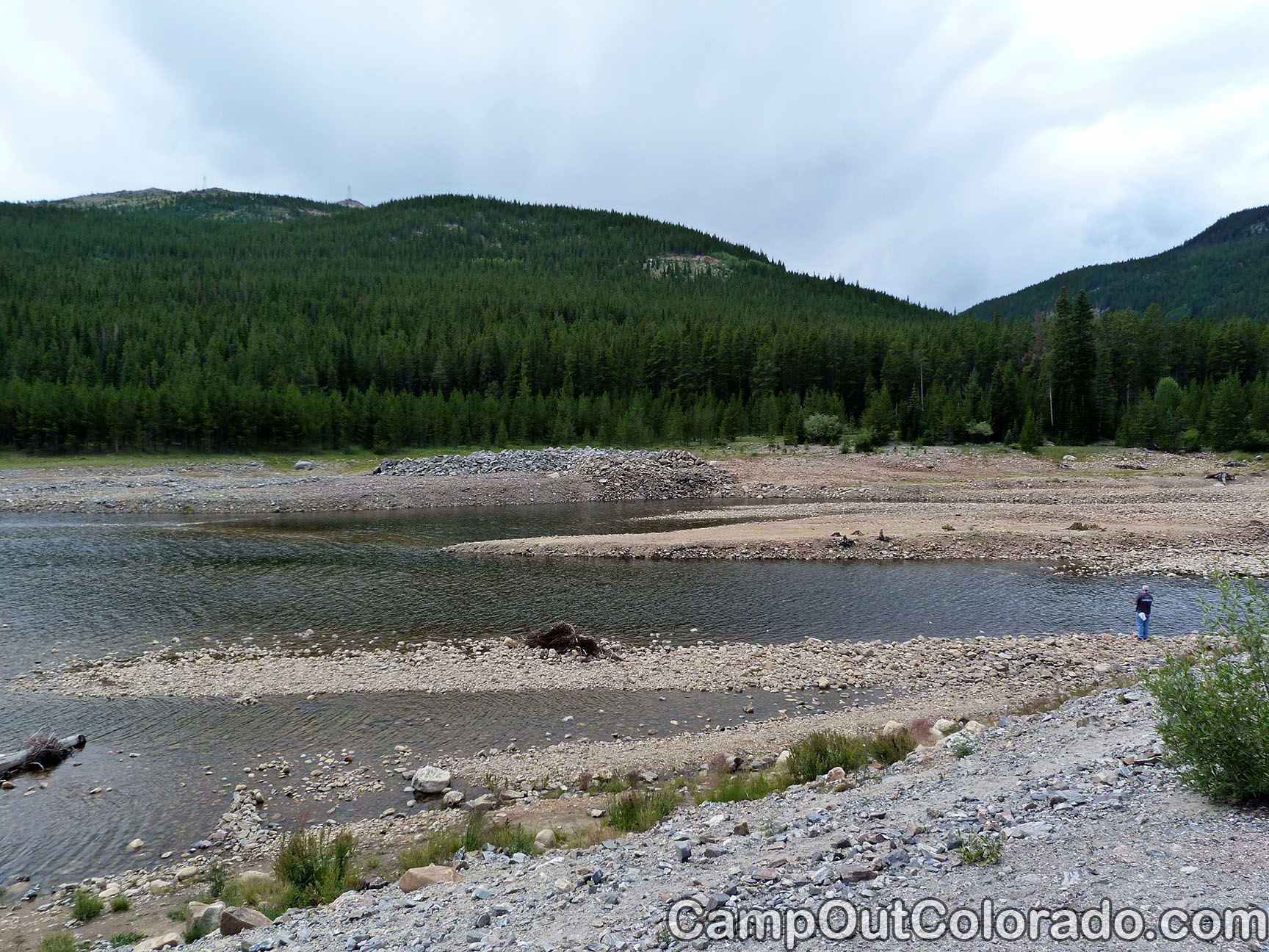 Camp-out-colorado-turquoise-lake-low-water