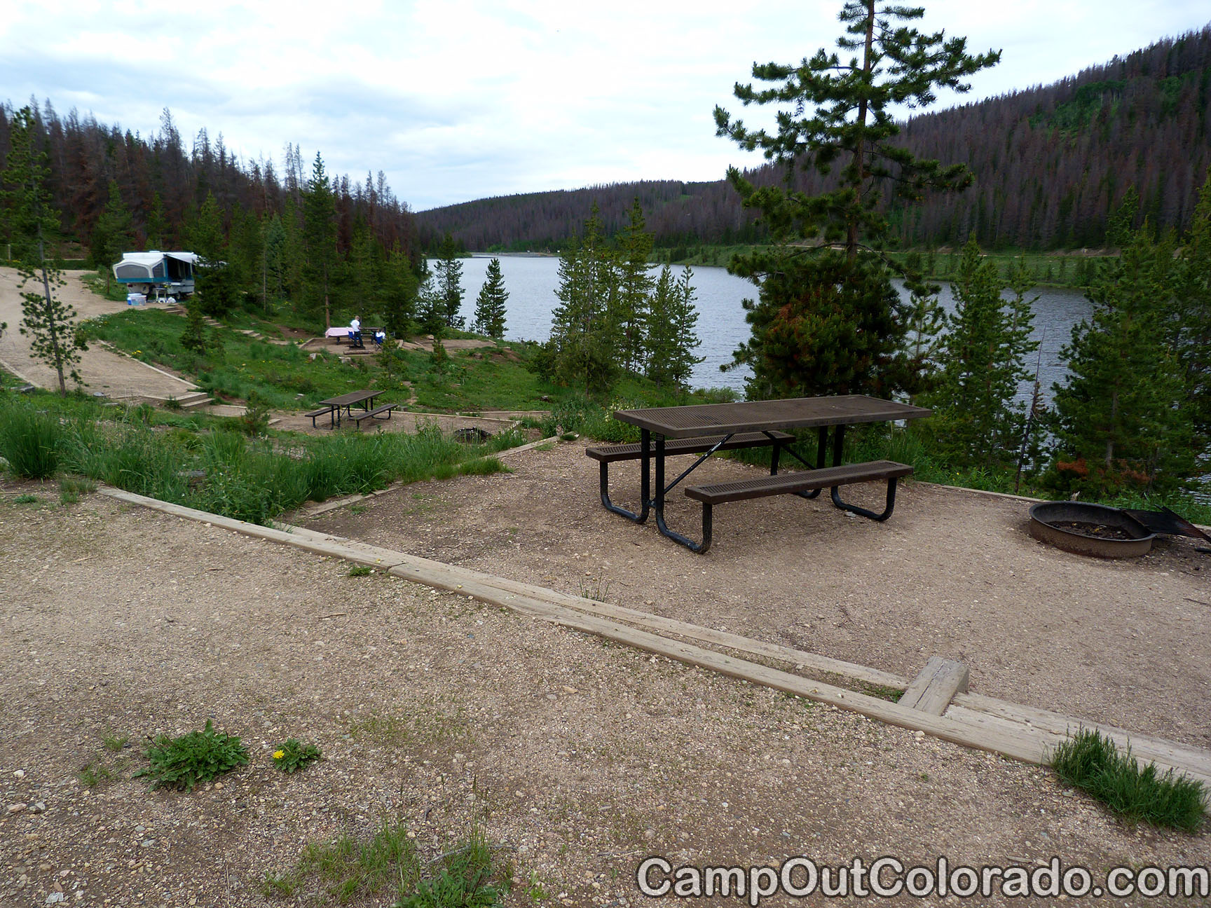 North Michigan Reservoir Campground in State Forest State Park Camping Review