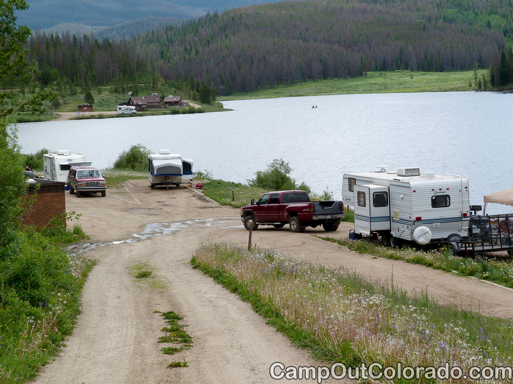 Campoutcolorado-north-michigan-reservoir-campground-lake-side-camping