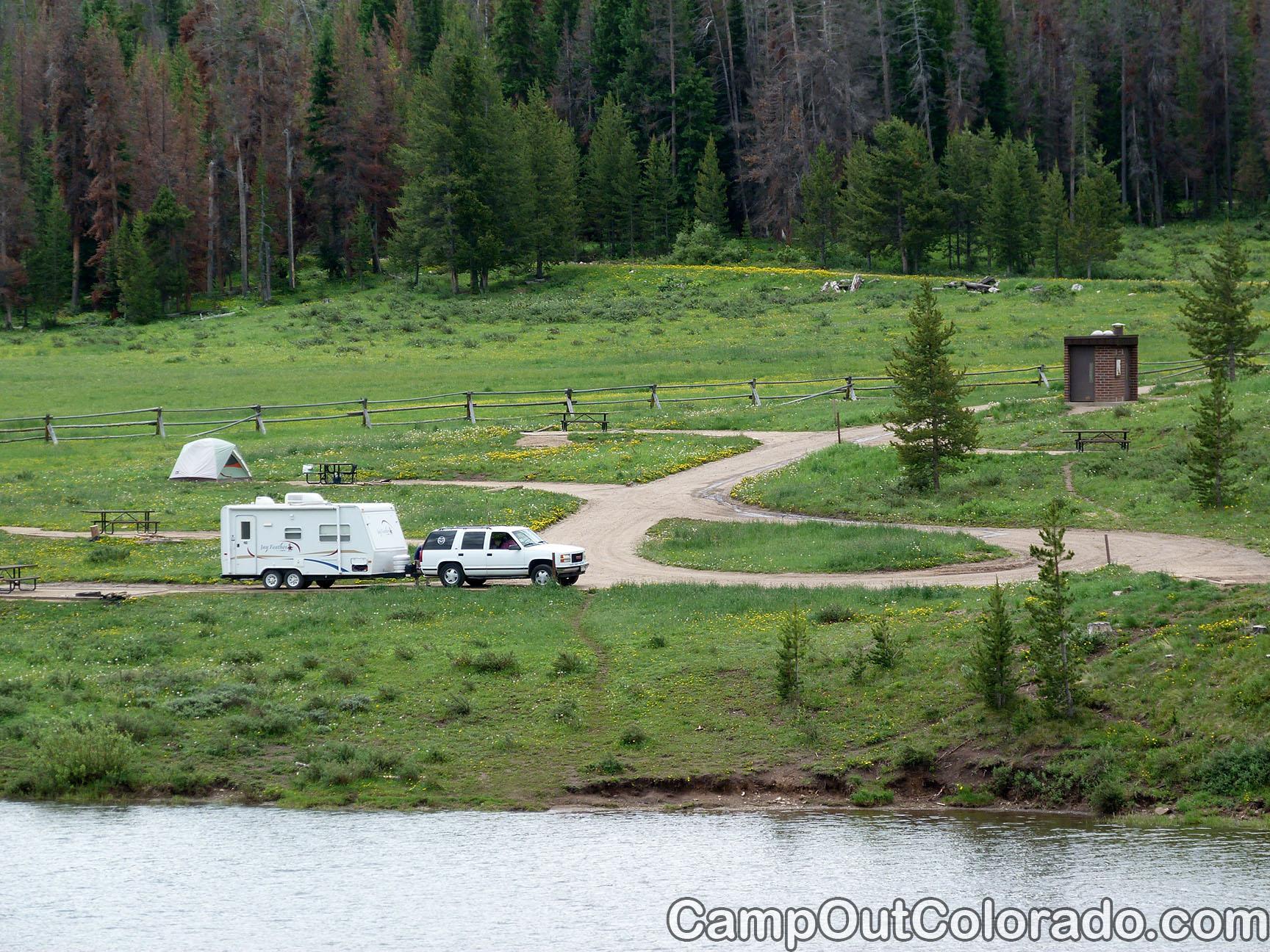 Campoutcolorado-north-michigan-reservoir-campground-southeast-camping