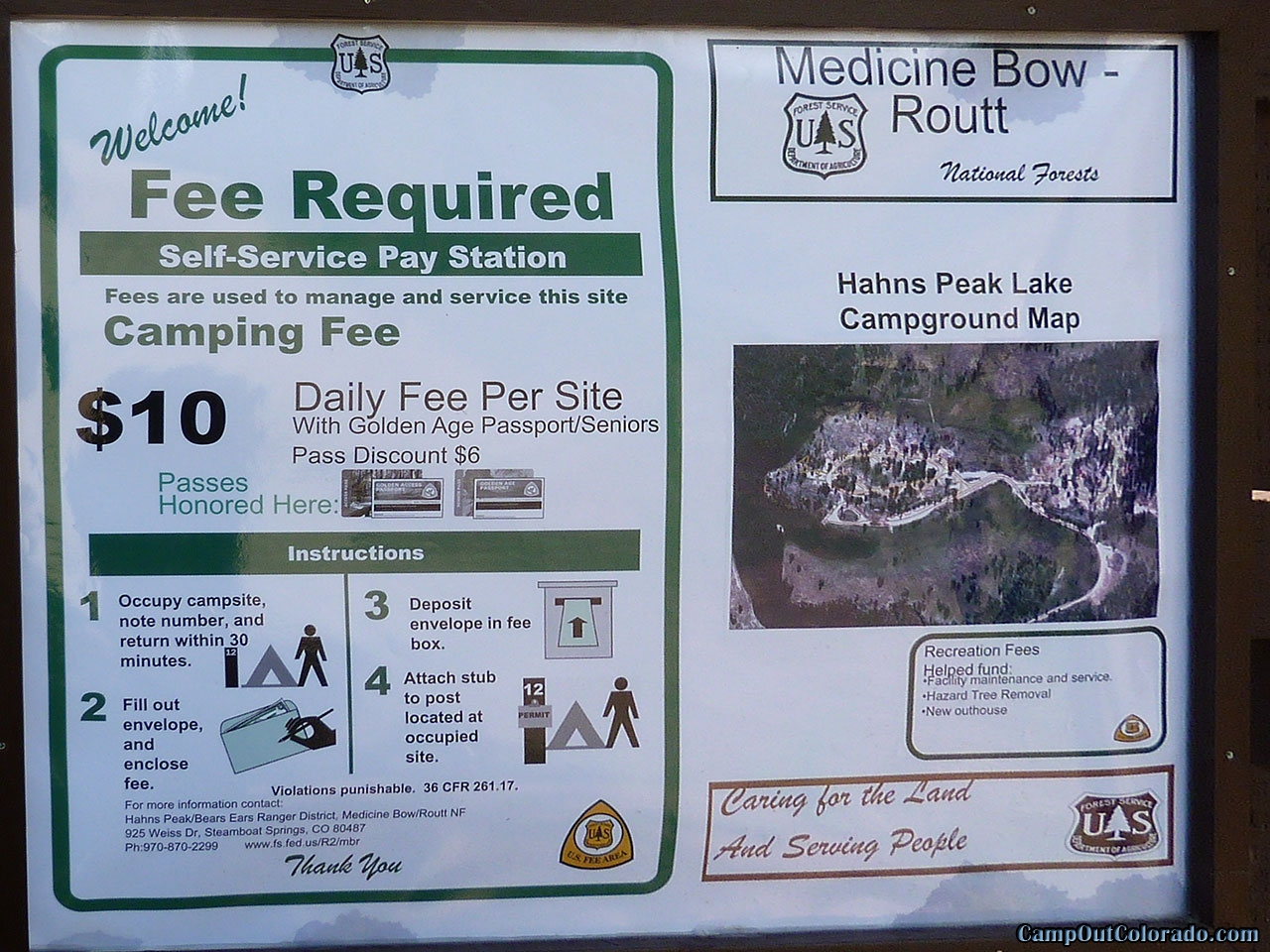 hahns-peak-lake-campground-fee-info