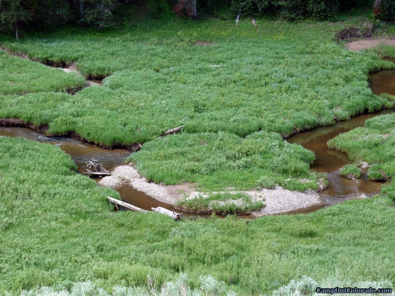 hahns-peak-lake-campground-stream-fishing