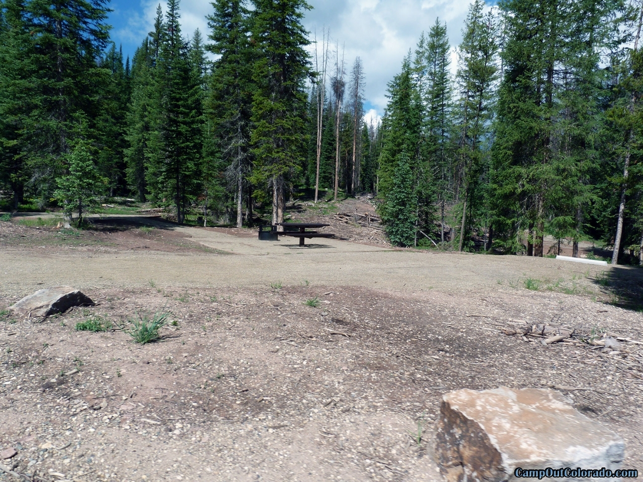 hahns-peak-lake-campground-thick-forest-around-campsite