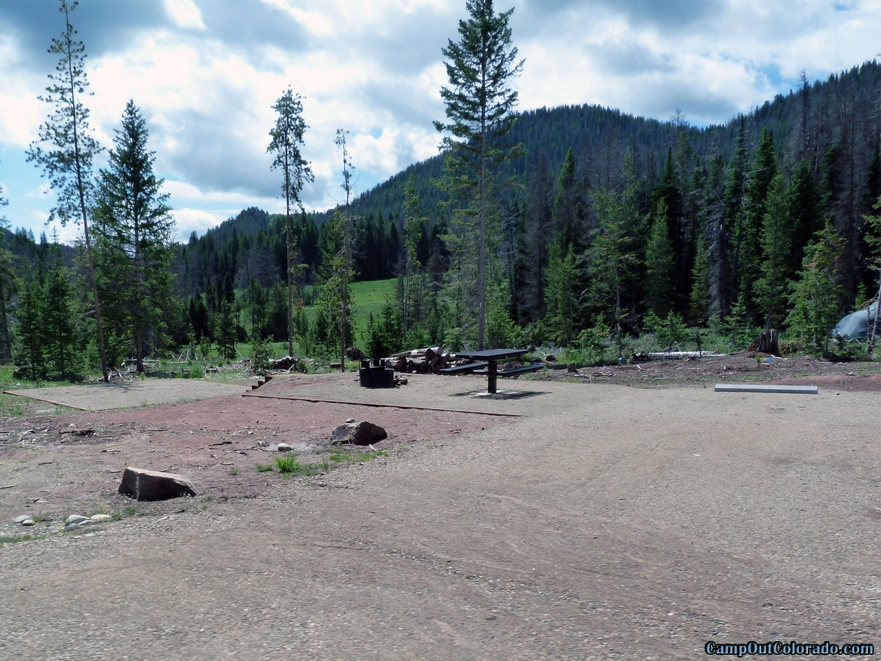 Camping Review of Hahns Peak Lake Campground